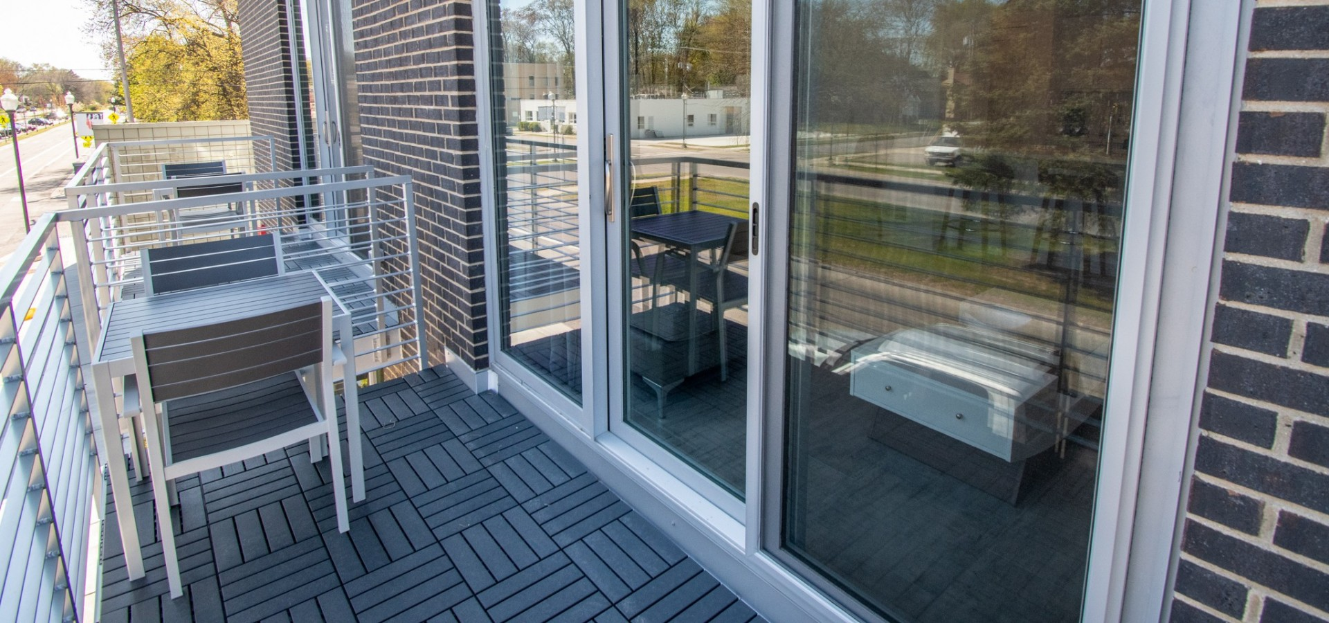 Walk Out Balcony w/ Sitting Area